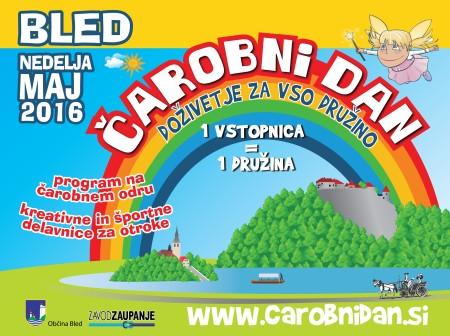 Čarobni dan Bled 2016