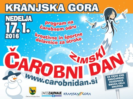 Čarobni dan Kranjska Gora 2016