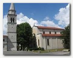 Cerkev Svetega Martina v Sežani